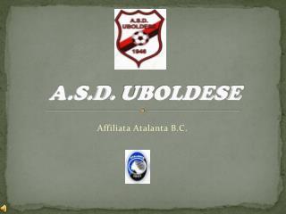 A.S.D.  UBOLDESE