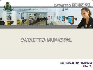 CATASTRO MUNICIPAL