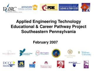 Applied Engineering Technology Educational & Career Pathway Project Southeastern Pennsylvania