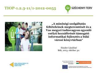 TIOP-1.2.3-11/1-2012-0055