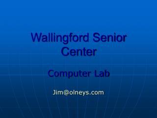 Wallingford Senior Center