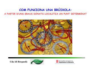 COM FUNCIONA UNA BRÚIXOLA: A PARTIR D'UNS GRAUS DONATS LOCALITZA UN PUNT DETERMINAT