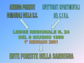 LEGGE REGIONALE N. 24 DEL 9 GIUGNO 1999