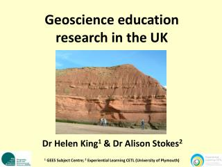 Geoscience education research in the UK
