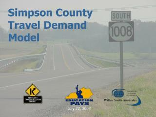 Simpson County Travel Demand Model