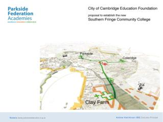 CCEF An educational charity which supports the schools within the Parkside Federation