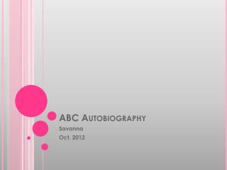 ABC Autobiography