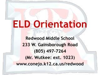 ELD Orientation