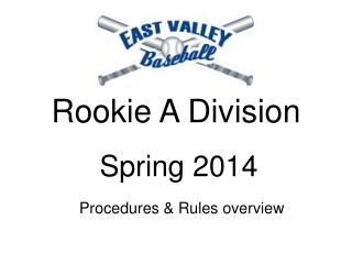 Rookie A Division