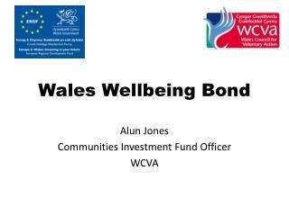 Wales Wellbeing Bond