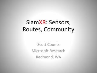 Scott Counts Microsoft Research Redmond, WA