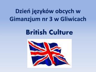Dzień języków obcych w  Gimanzjum  nr 3 w Gliwicach