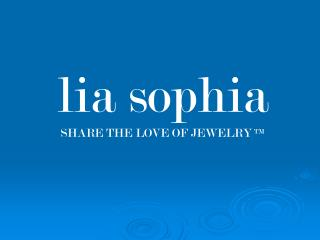 lia sophia SHARE THE LOVE OF JEWELRY TM