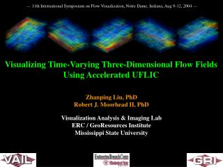 Visualizing Time-Varying Three-Dimensional Flow Fields Using Accelerated UFLIC