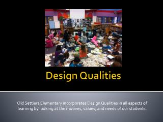 Design Qualities