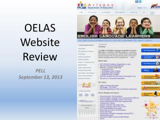 OELAS Website Review