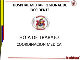 HOSPITAL MILITAR REGIONAL DE OCCIDENTE