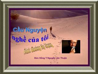 Đức Hồng Y Nguyễn văn Thuận