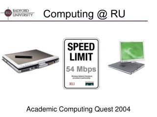 Computing  RU