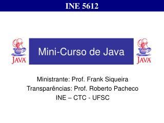 Mini-Curso de Java