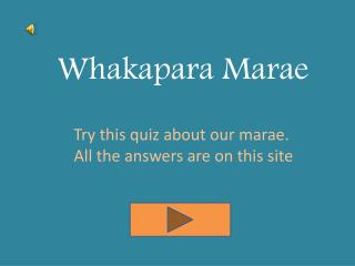 Whakapara Marae