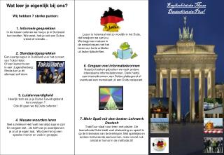 5. Lezen  Lezen is helemaal niet zo moeilijk in het Duits, dat bewijzen we aan jou.