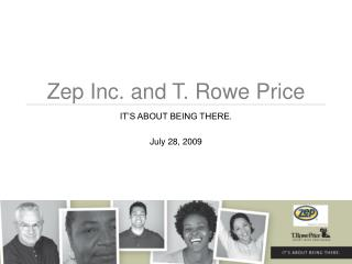 Zep Inc. and T. Rowe Price