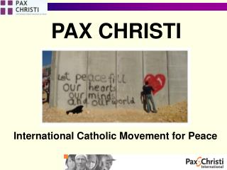 International Catholic Movement for Peace