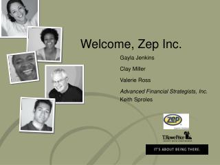 Welcome, Zep Inc.