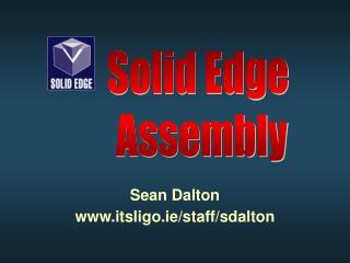 Sean Dalton itsligo.ie/staff/sdalton