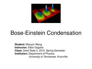 Bose-Einstein Condensation