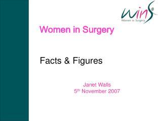 Women in Surgery