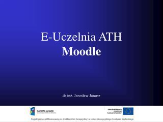E-Uczelnia ATH Moodle