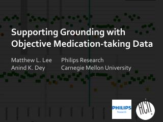 Supporting Grounding with Objective Medication-taking Data