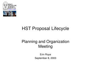 HST Proposal Lifecycle
