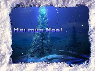 Hai mùa Noel