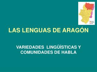 LAS LENGUAS DE ARAG�N