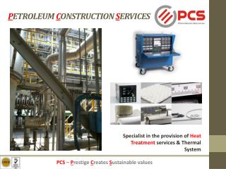 P ETROLEUM  C ONSTRUCTION  S ERVICES