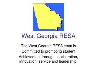 West Georgia RESA