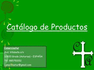Cat�logo de Productos