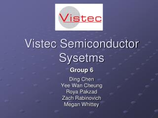 Vistec Semiconductor Sysetms