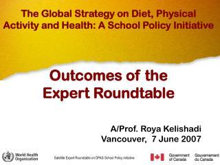 A/Prof. Roya Kelishadi  Vancouver,  7 June 2007