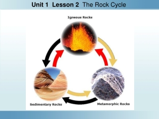 Unit 4: The Rock Cycle