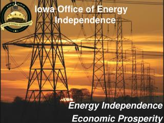 Iowa Office of Energy                      		 Independence