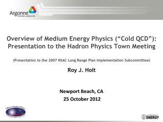 Newport Beach, CA  25 October 2012