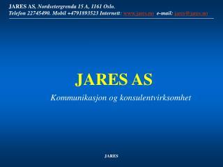 Kommunikasjon og konsulentvirksomhet