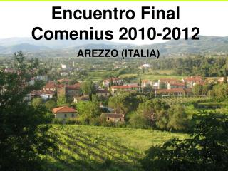 Encuentro Final Comenius 2010-2012