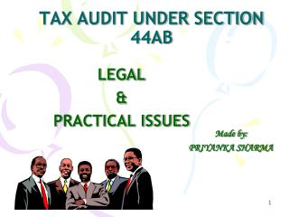 TAX AUDIT UNDER SECTION 44AB