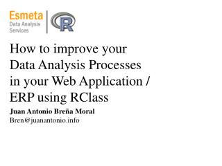 How to improve your Data Analysis Processes in your Web Application / ERP using RClass