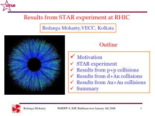Results from STAR experiment at RHIC
